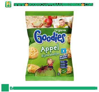 Organix Goodies rijstwafel appel aanbieding