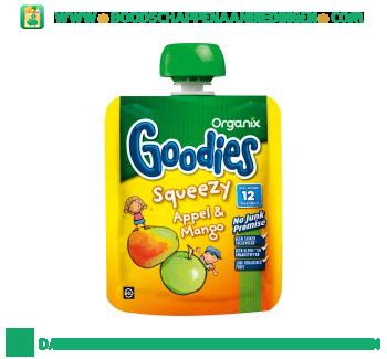 Organix Goodies squeezy appel mango aanbieding