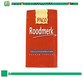 Paco Roodmerk snelfiltermaling aanbieding