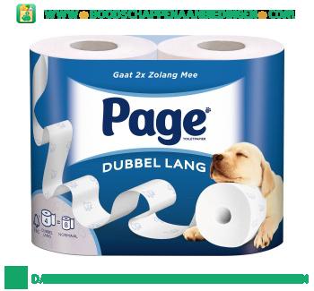 Page Toiletpapier dubbel lang aanbieding