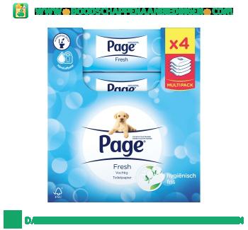 Page Toiletpapier fresh aanbieding