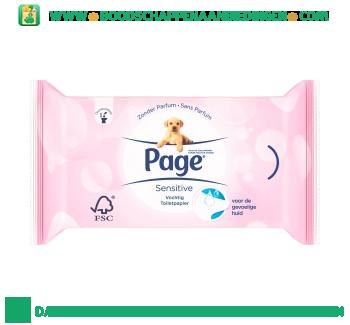 Page Vochtig toiletpapier navul aanbieding