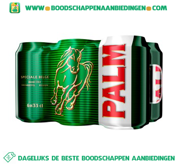 Palm Pak 6 blikjes aanbieding