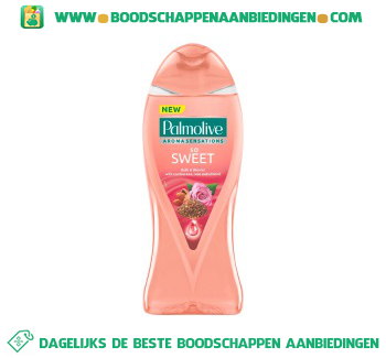 Palmolive Bad sensations so sweet aanbieding