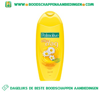 Palmolive Shampoo elke dag aanbieding