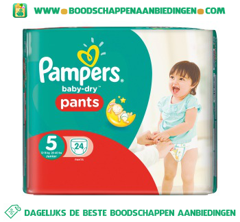 Baby dry pants junior 5 aanbieding