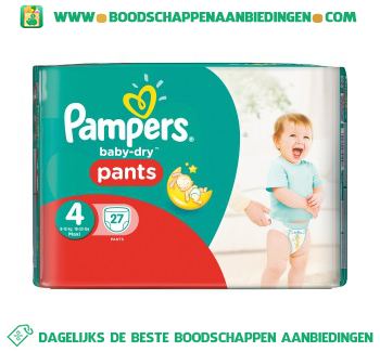 Pampers Baby dry pants maxi 4 aanbieding