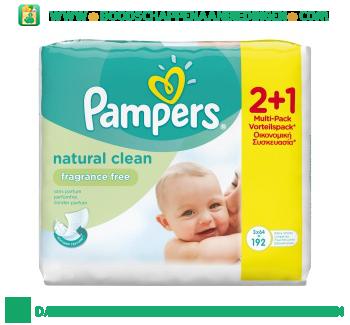 Pampers Babydoekjes parfumvrij aanbieding