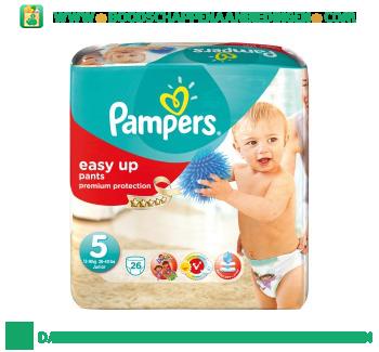 Pampers Easy Up luiers maat 5 (Junior) 12kg-18 kg aanbieding