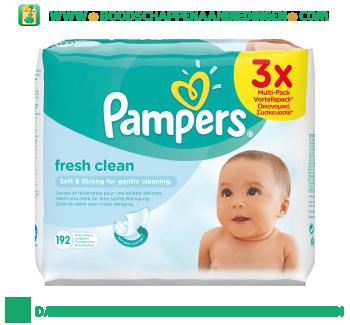 Pampers Fresh babydoekjes aanbieding
