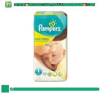 Pampers New baby luiers maat 1 (pasgeborene) 2-5 kg aanbieding