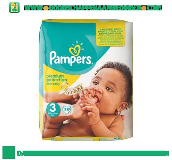 Pampers New baby luiers maat 3 (midi) 4-9 kg aanbieding