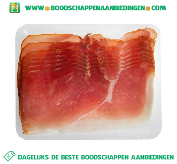 Pas gerookte boeren ham aanbieding