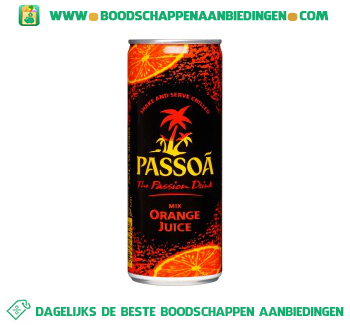 Passoã Orange juice aanbieding