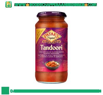 Pataks Tandoori currysaus aanbieding