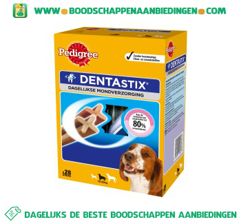 Pedigree Dentastix dagelijkse mondverzorging 10-25 kg aanbieding