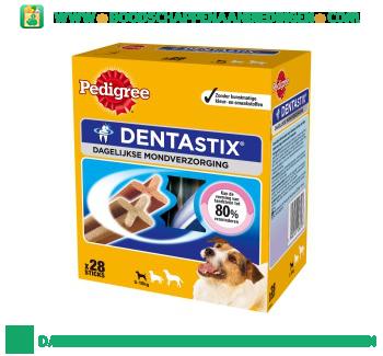 Pedigree Dentastix dagelijkse mondverzorging 5-10 kg aanbieding