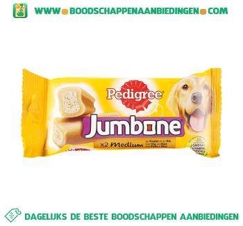 Pedigree Jumbone medium kip aanbieding