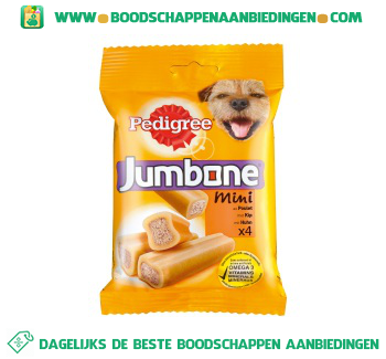 Pedigree Jumbone mini aanbieding