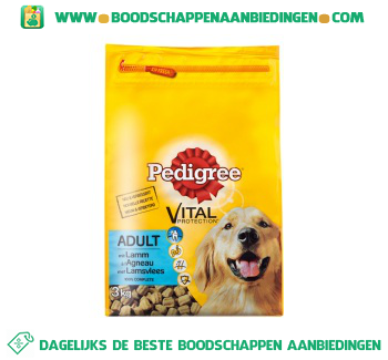 Pedigree Vital protection adult met lamsvlees aanbieding