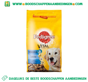 Pedigree Vital protection senior 8+ aanbieding