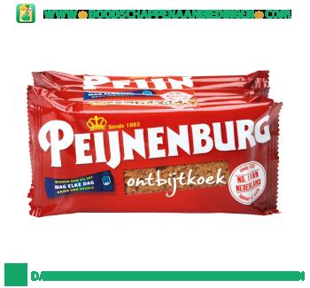 Peijnenburg Ontbijtkoek naturel single aanbieding