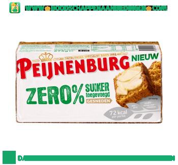 Peijnenburg Zero % suiker gesneden aanbieding