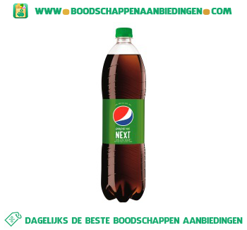 Pepsi Cola next aanbieding