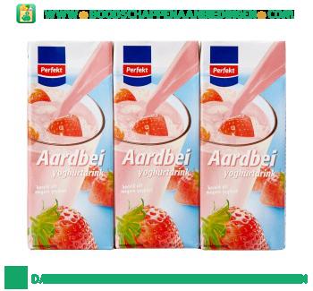Perfekt Aardbei yoghurtdrink 6-pak aanbieding