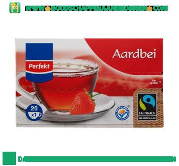 Perfekt Aardbeien thee 1-kops aanbieding