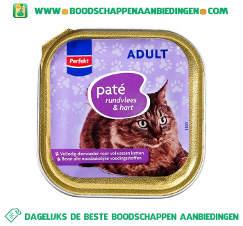 Perfekt Adult paté rundvlees & hart aanbieding
