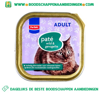 Perfekt Adult paté wild & gevogelte aanbieding