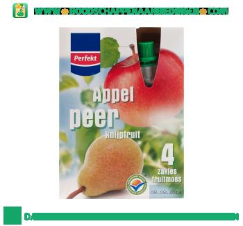 Perfekt Appel & peer knijpfruit aanbieding