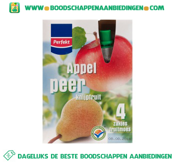 Appel & peer knijpfruit aanbieding