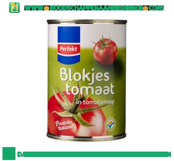 Blokjes tomaat in tomatensap aanbieding