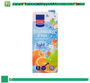 Perfekt Bronwater en fruit sinas & peer aanbieding