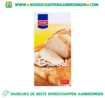 Perfekt Broodmix wit aanbieding