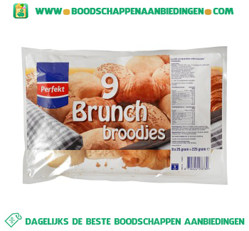 Perfekt Brunchbroodjes aanbieding