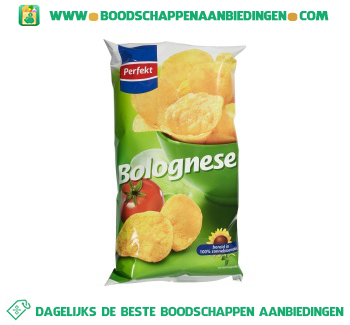 Chips bolognese aanbieding