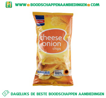 Perfekt Chips cheese onion aanbieding
