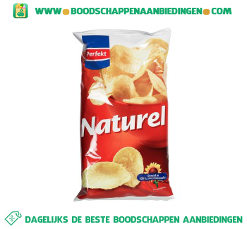 Perfekt Chips naturel aanbieding