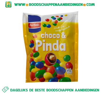 Perfekt Choco & pinda aanbieding