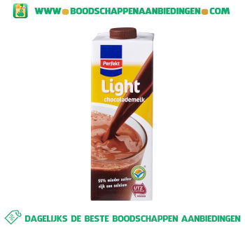 Perfekt Chocolademelk halfvol light aanbieding