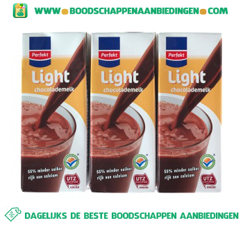 Chocolademelk light aanbieding