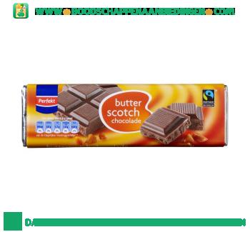 Perfekt Chocoladereep butterscotch fairtrade aanbieding