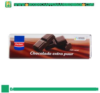 Perfekt Chocoladereep extra puur fairtrade aanbieding