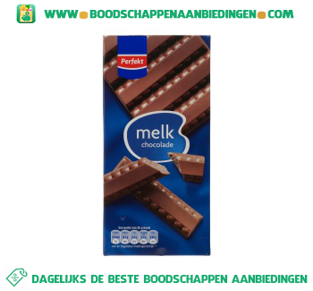 Chocoladereep melk aanbieding