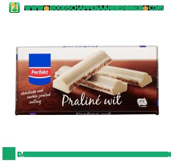 Perfekt Chocoladereep praliné wit aanbieding