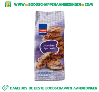 Perfekt Chocolate chip cookies aanbieding