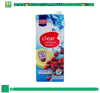 Clear cranberry & limoen aanbieding